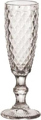 Taças para Champagne Transparente  6 peças