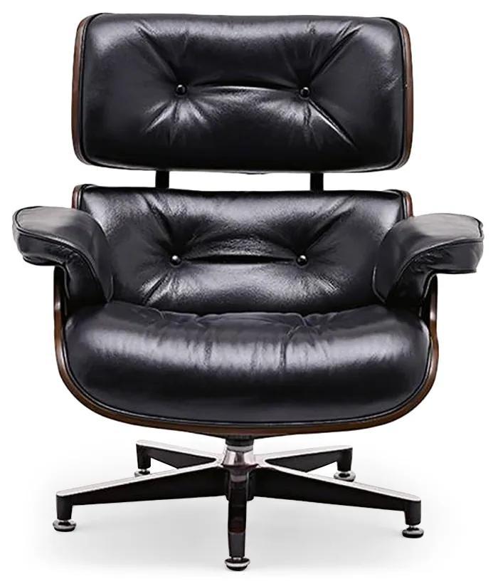 Poltrona Lounge Chair Lâmina de Madeira Artesian Clássicos de Design by Charles e Ray Eames