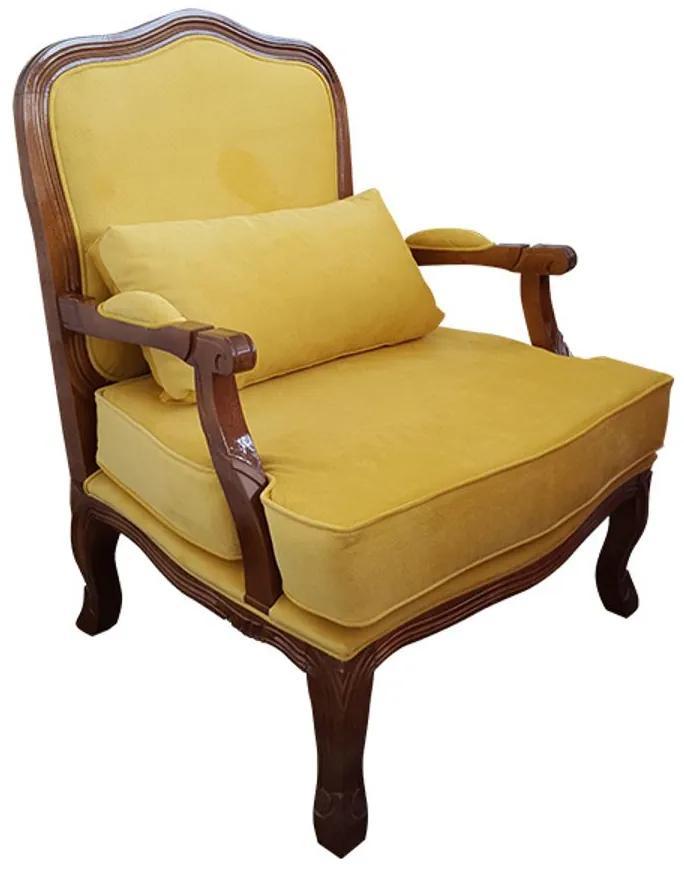 Poltrona King - Wood Prime 957275 Liso