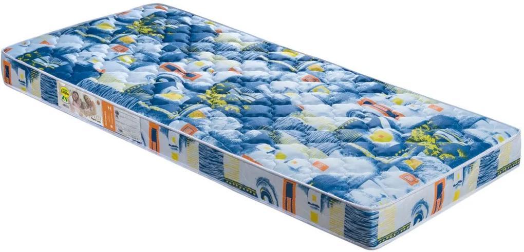 ColchÁo De Solteiro Príncipe D23 188X88X12 Azul Celiflex