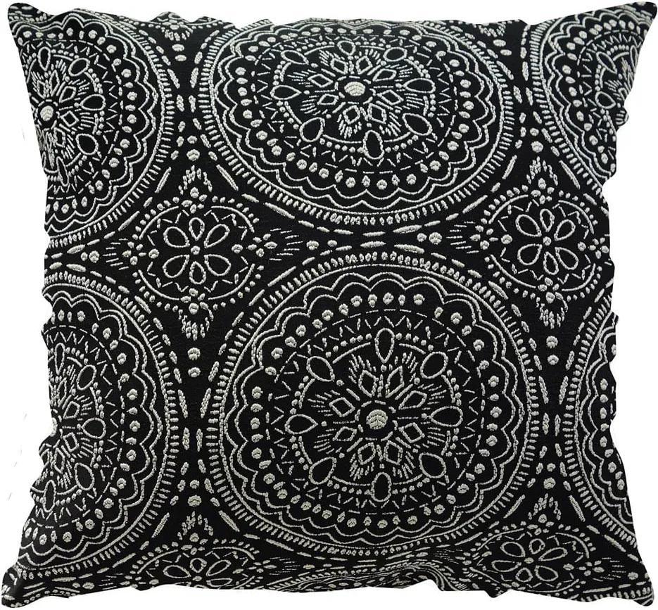 Capa para Almofada Quadrada Azteca - Preto