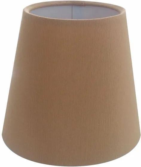Cúpula em Tecido Cone Abajur Luminária Cp-2004 14/08x13cm Palha