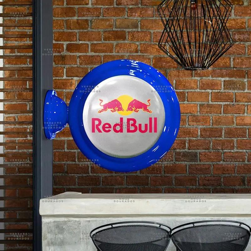 Luminária De Parede Red Bull