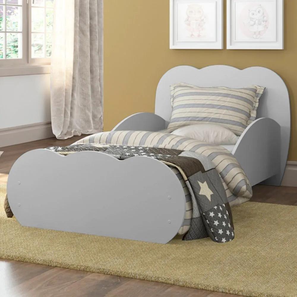 Mini-cama Nuvem 2667.160 Cinza - Multimóveis