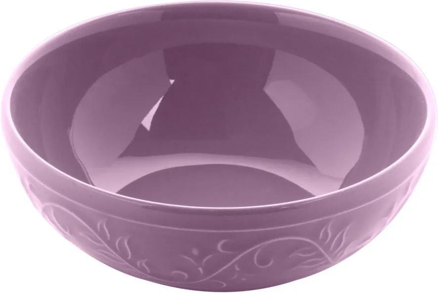 Jogo Bowl Cerâmica 6 Peças Alanya Plum 15cm 17501 Wolff