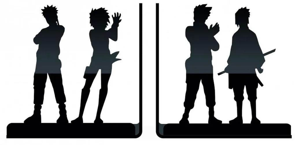 Aparador de Livros Naruto Shippuden Personagens