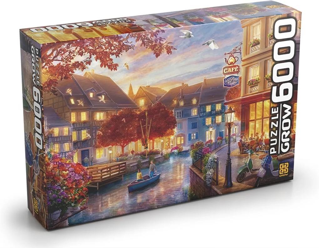 Le Petit Café - Grow- Puzzle  6000 peças - Amarelo