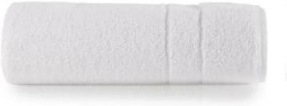 Toalha de Banho Felpuda Teka Mônaco Branca 380g/m²