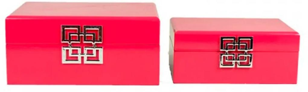 Cj de Caixas Princesa Pink