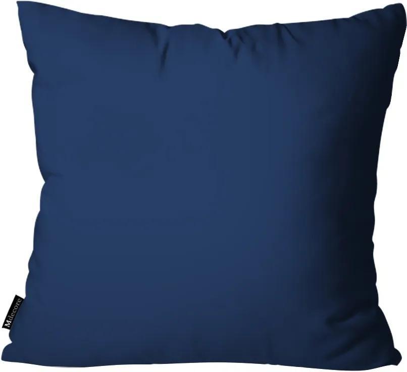 Capa para Almofada Infantil Lisa Azul Marinho35x35cm