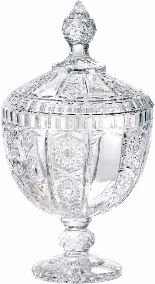 Bomboniere Versailles com Pé em Cristal Ecológico