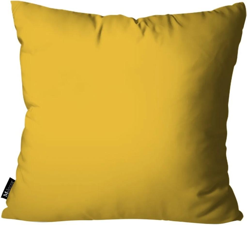Capa para Almofada Mdecore de Páscoa Amarelo 45x45