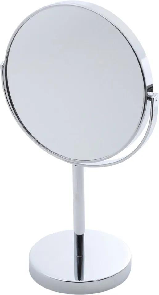 Espelho Duplo Rojemac para Banheiro de Ferro Cromado Prata