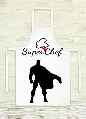 AVENTAL CHEF SUPER-HERÓI