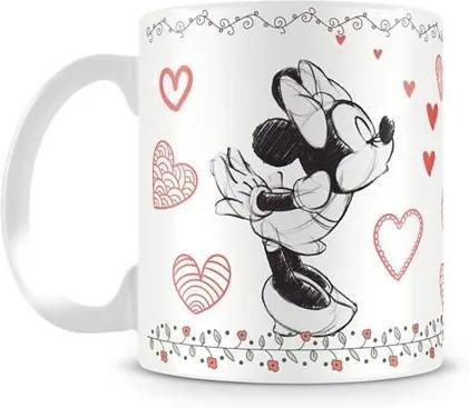 Caneca Personalizada Mickey e Minnie Love