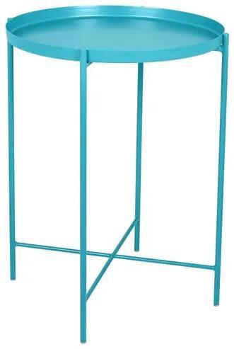 Mesa Apoio Bath Azul Turquesa 42 cm (LARG) - 40482 Sun House