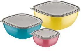 Jogo Bowls Tramontina Mix Color 3 peças