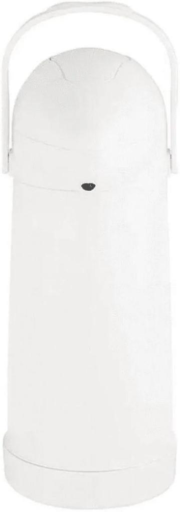 Garrafa Térmica de Pressão Nobile 1L Branco – Mor