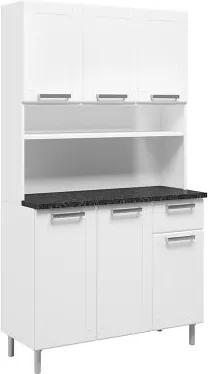 Kit Cozinha Compacta 6142 6 Portas e 1 Gaveta Bertolini