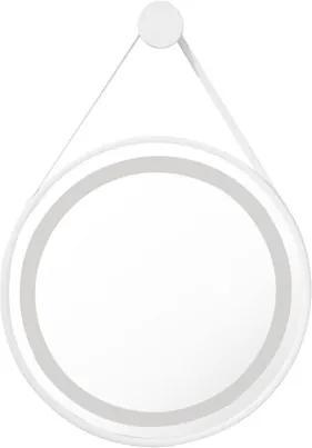Espelho Branco Redondo Led 72W 2700/4000K Ø60cm Jules