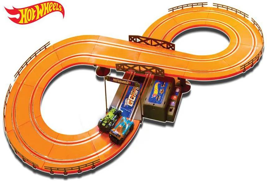 Pista Hot Wheels Track Set 286cm Basic Multikids