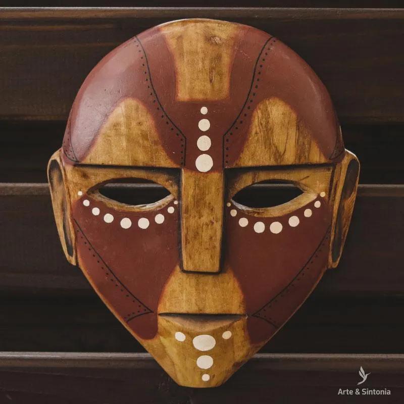Máscara em Madeira | Artesanato Étnico
