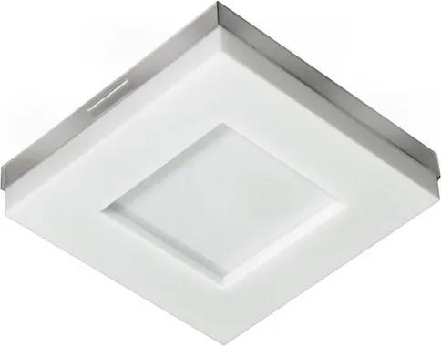 Plafon Led Sobrepor Branco 16W Luz Amarela 3000K Asturias