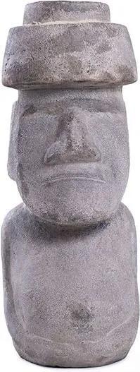 Naoki da Ilha de Páscoa em Cimento