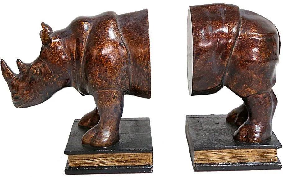 Aparador de Livros Rinoceronte Acobreado