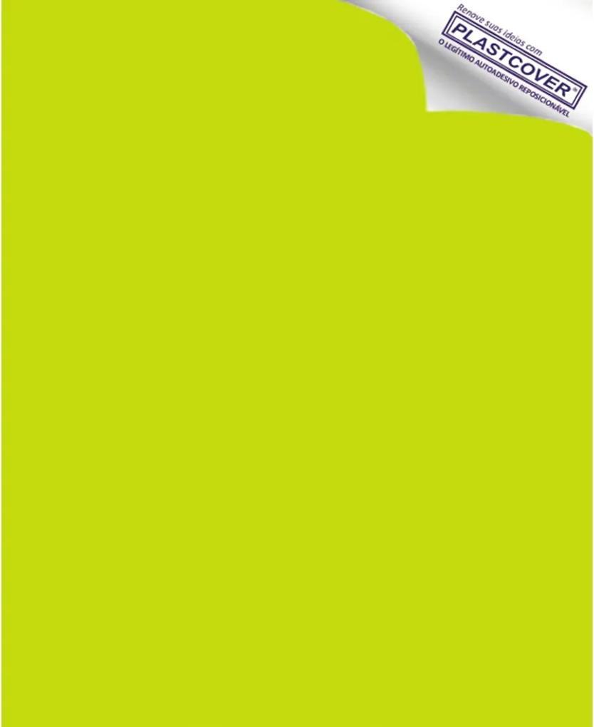Revestimento Adesivo Verde Abacate 45cm x 10m