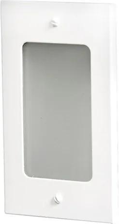 Balizador Embutir Alumínio Retangular Ip65