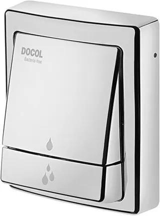 Acabamento para Válvula Descarga Salvagua Square Bacteria-Free Cromada - 00449538 - Docol - Docol