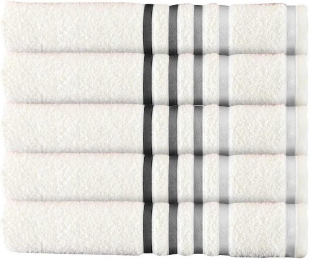 Jogo 10 Toalha de banho brancas kit de toalha 70x130cm Jogo De Banho