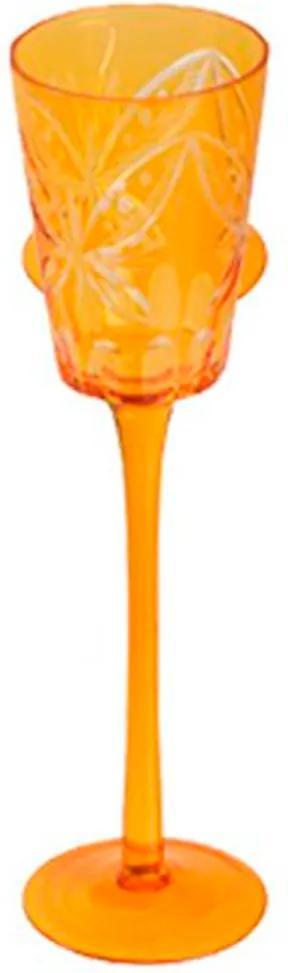 Taça de Vidro 400 ml Farfalle III Ambar