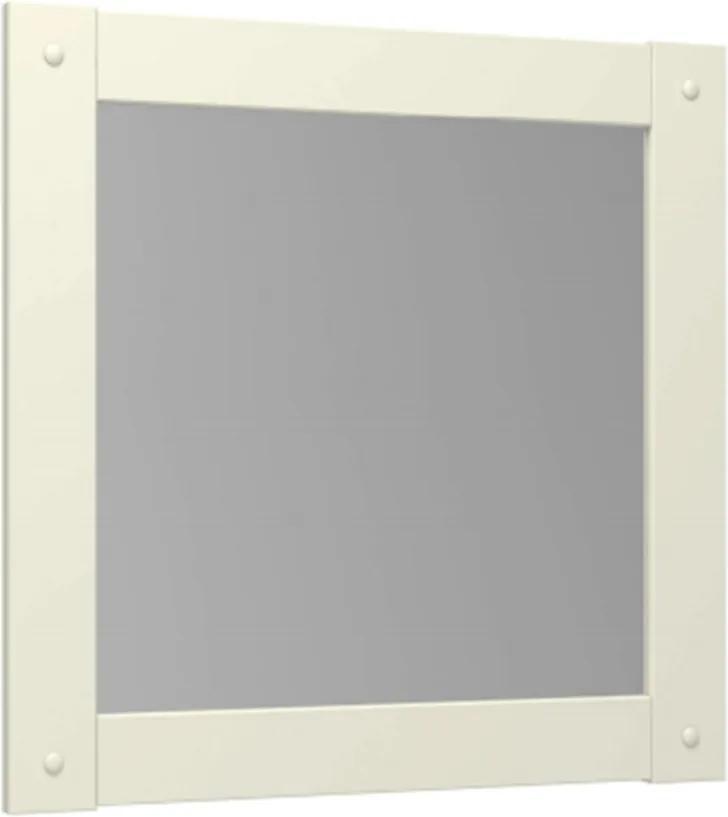 Moldura com Espelho Esmeralda - Cor Branco