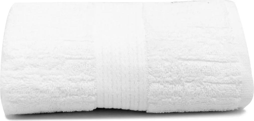 Toalha de Rosto Buddemeyer Canelado Branco