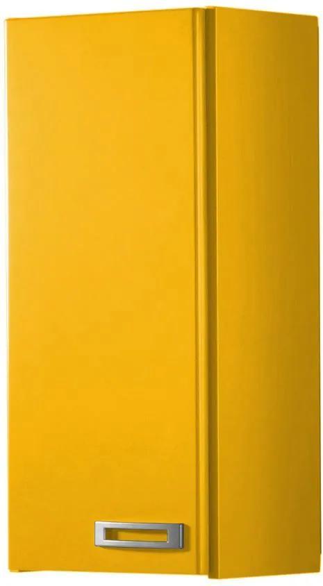 Armário de Banheiro Aéreo 1 Porta Kenzo 160 Amarelo - Maxima