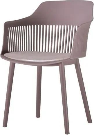 Cadeira Leslie Polipropileno Camurca - 58274 Sun House