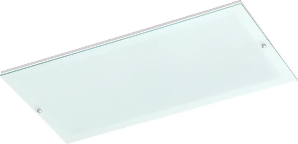 Plafon Embutir Aluminio Branco 4w 24cm