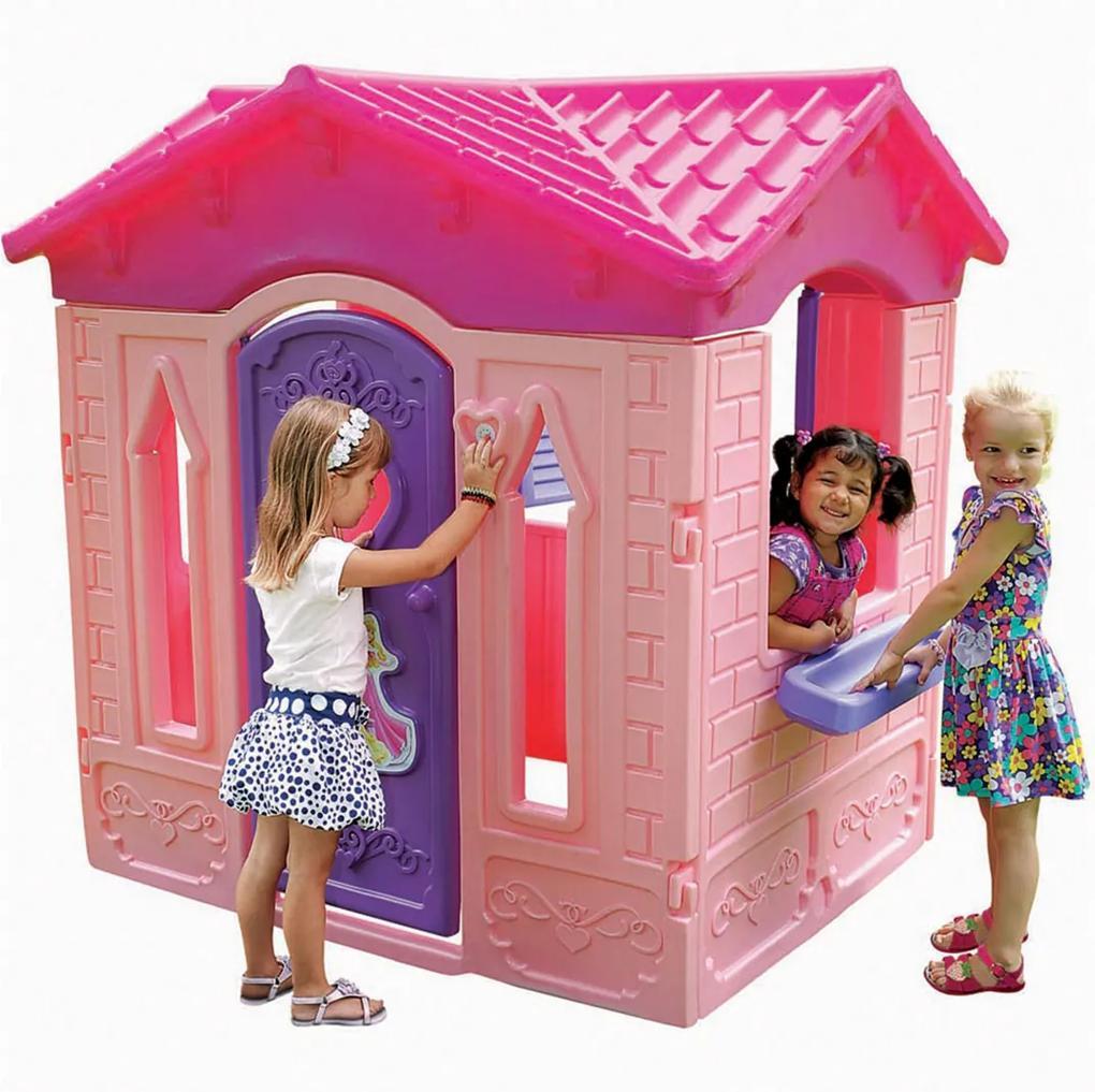 Princesas Casinha Princesas Disney Xalingo Rosa