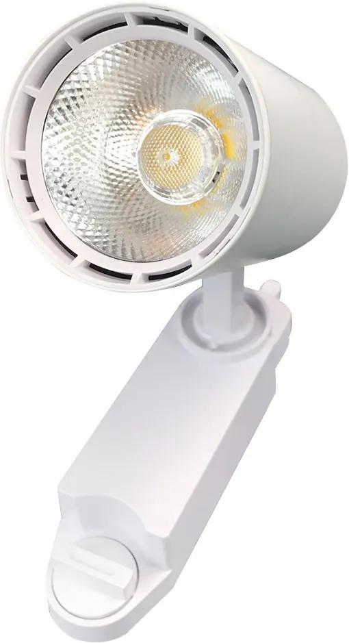 Spot para Trilho Eletrificado Branco (Led Incluso) 7W 3000K Bivolt - MBLED - S33015