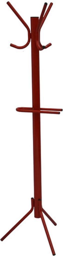 Cabideiro Pintado Vermelho - Villarte Móveis