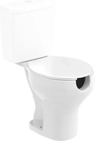 Bacia Sanitária para Caixa Acoplada com Abertura Acesso Plus Branca - Celite - Celite