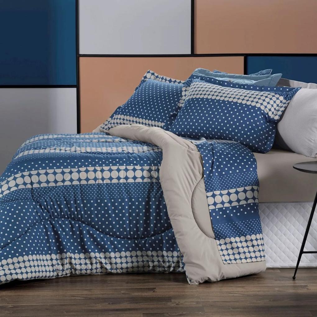 Jogo De Roupa De Cama King All Design - La Petite Azul Altenburg