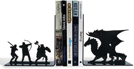Porta Livros Dragão