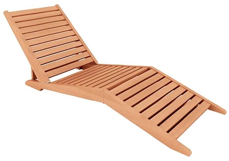 Espreguiçadeira Sunset Dobrável - Wood Prime MR 218617