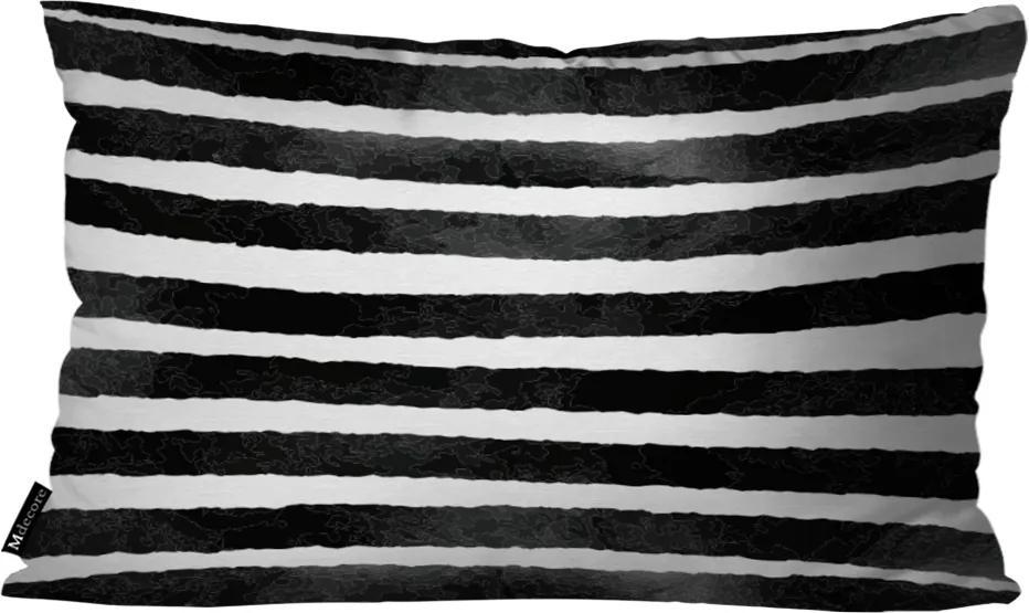 Almofada Retangular Listras Branco30x50cm