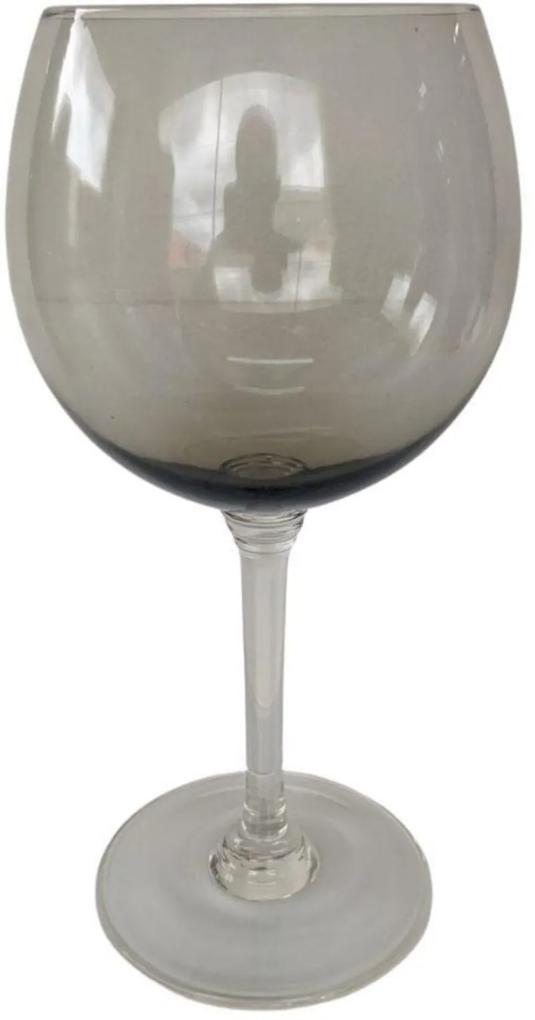 Jogo de 6 Taças Galla para Água em Vidro Fumê 550 ml