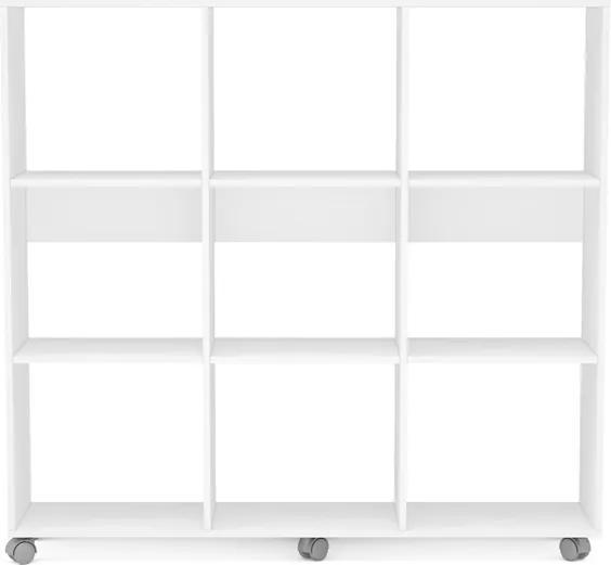 Estante Caracol 9 nichos 2341 Branco Politorno