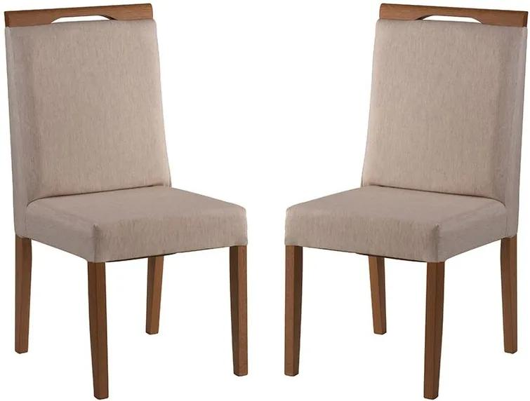 Conjunto 2 Cadeiras de Jantar Valentin - Wood Prime MF 31987
